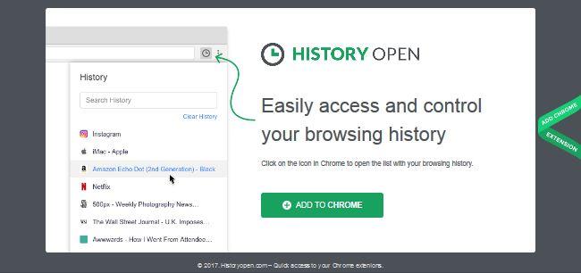 History Open