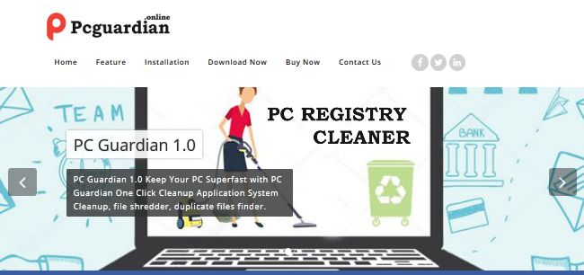 PC Guardian Registry Cleaner