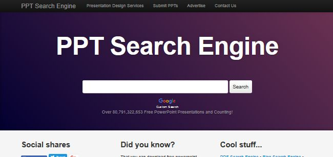 PPT Search Engine