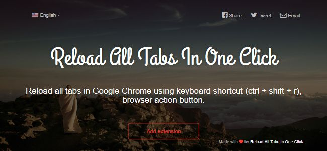 Reload All Tabs In One Click