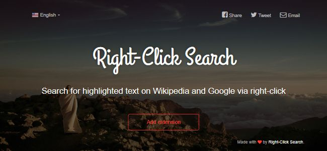 Right-Click Search