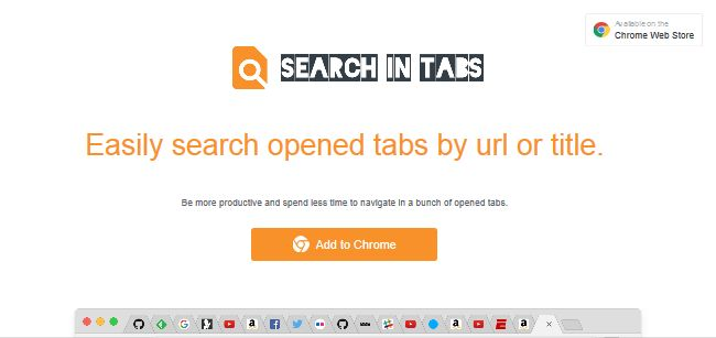 Search In Tabs