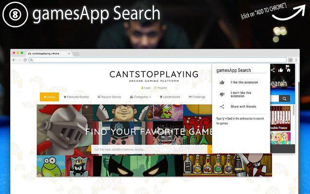 GamesApp Search