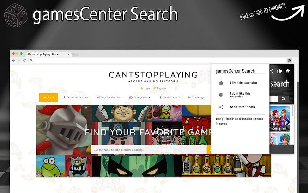 GamesCenter Search
