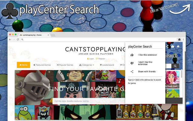 PlayCenter Search