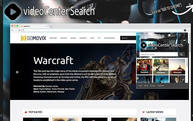 VideoCenter Search