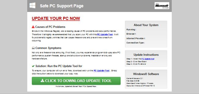 Safe PC Support