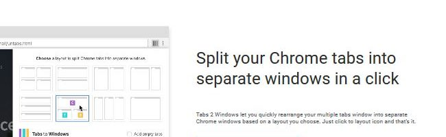 Tabs to Windows