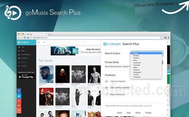 GoMusix Search Plus