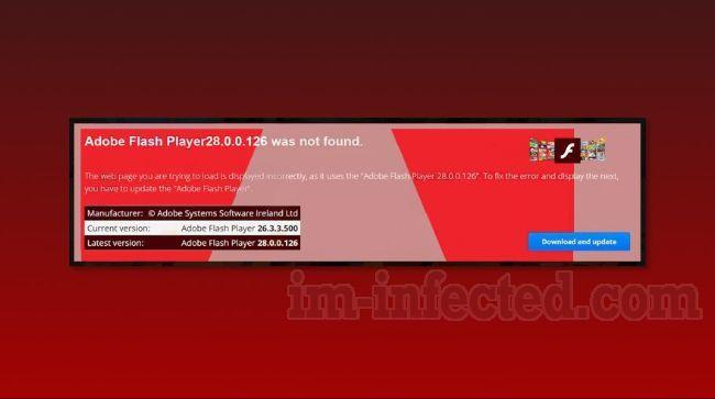 Adobe Flash Player Was Not Found