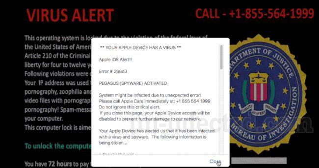 Apple iOS Alert