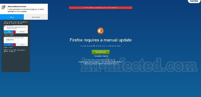 Firefox Requires A Manual Update