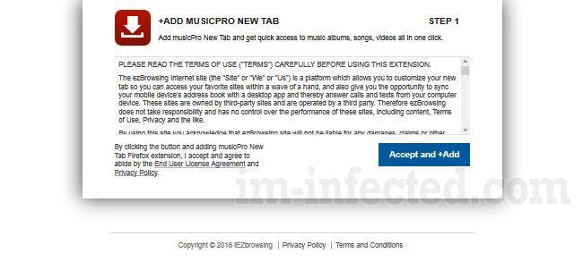 MusicPro New Tab