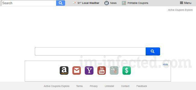 Search.hactivecouponsexplore.com