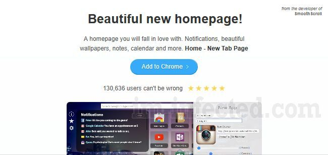 Home - New Tab Page