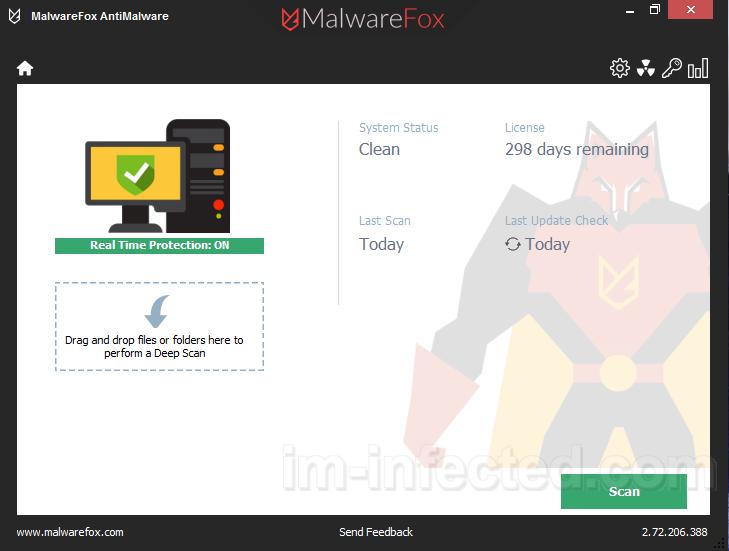 MalwareFox Malware removal tool