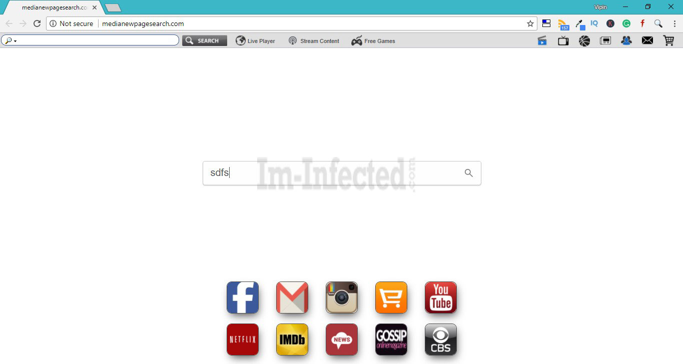 How to Remove Medianewpagesearch.com Hijacker