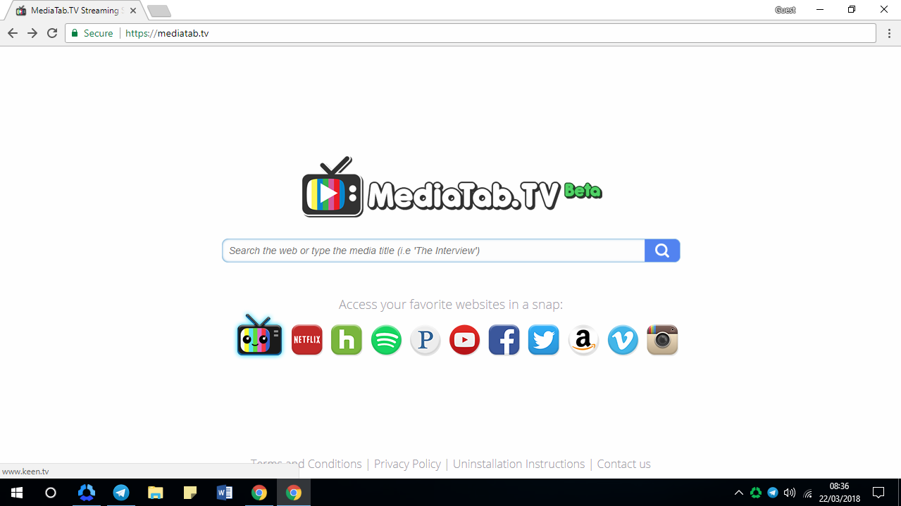 How to Remove Mediatab.tv from All Browsers