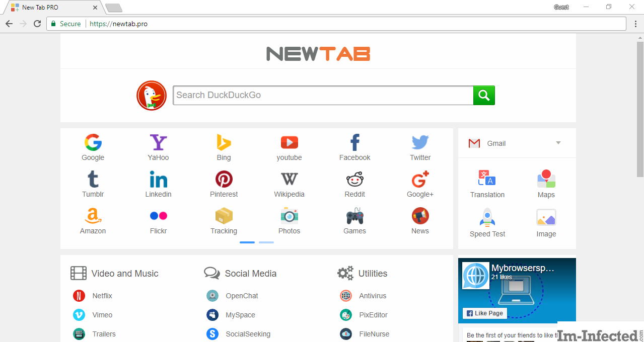 How to Remove Newtab.pro from All Browsers