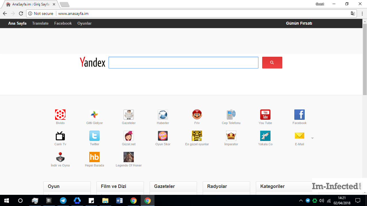 How to Remove Anasayfa.im from All Browsers