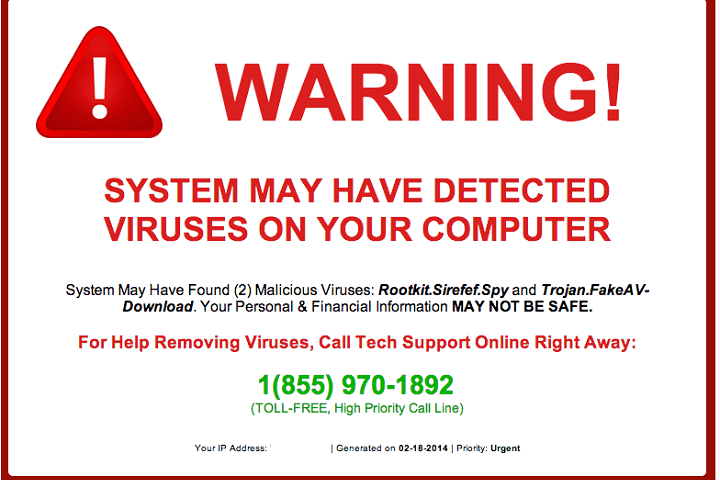 How to Remove Tech Support Scam Pop Ups