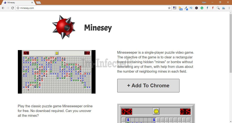 How to Remove Minesey.com Hijacker
