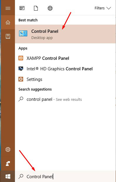 Remove Any Browser Hijacker - Control Panel