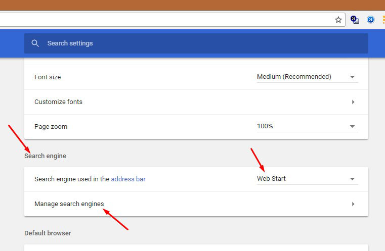 Remove Hijacker from Chrome Settings 2