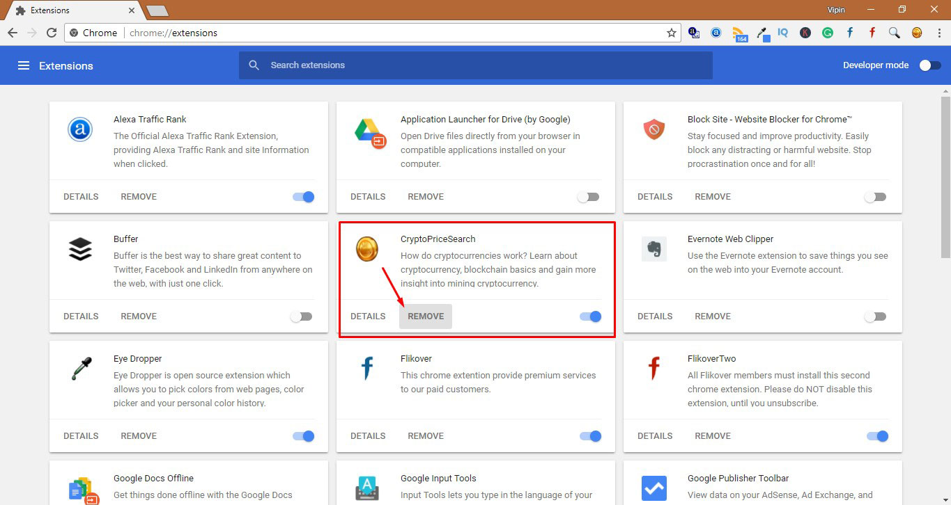 Remove Malware from Chrome 2