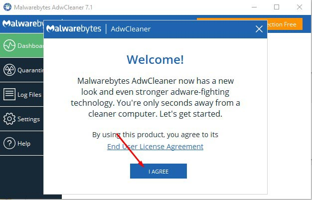 Remove Tech Support Scam Popups - Use AdwCleaner 2