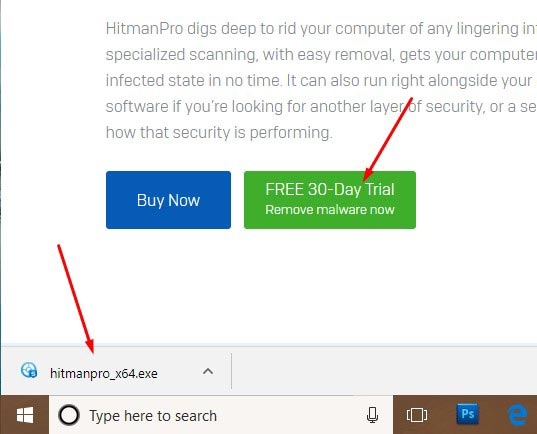 How to Remove Tech Support Popups - Use HitmanPro 1