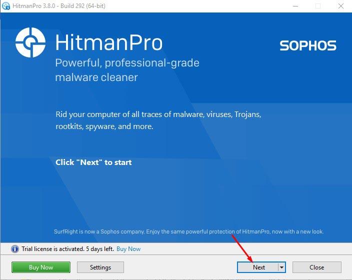 Remove Tech Support Scam Popups - Use HitmanPro 2