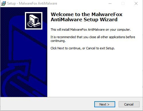 Remove Tech Support Scam Popups - Use MalwareFox 3