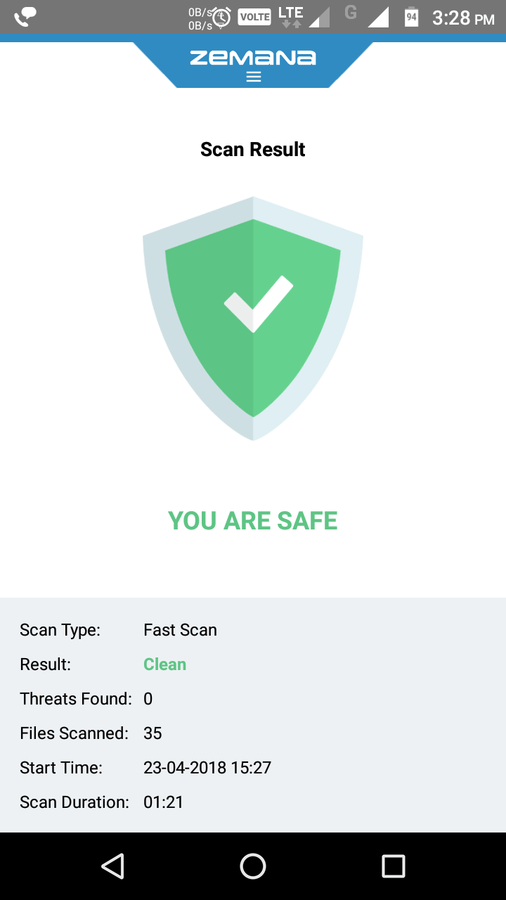 Zemana Antivirus - Remove Malware from Android