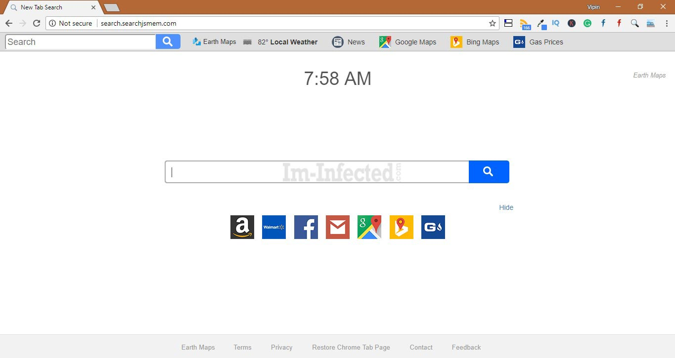 how to uninstall mystart search from firefox