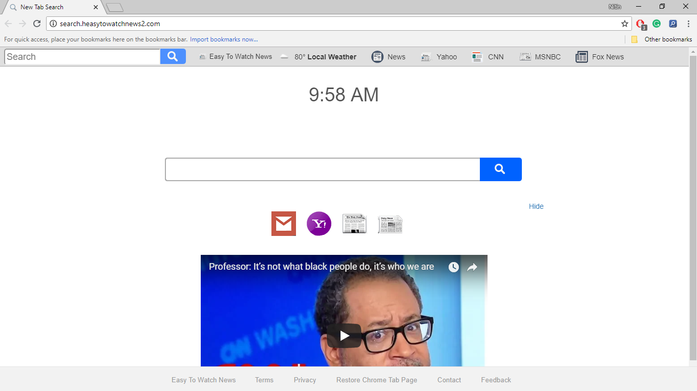 How to Remove Search.heasytowatchnews2.com