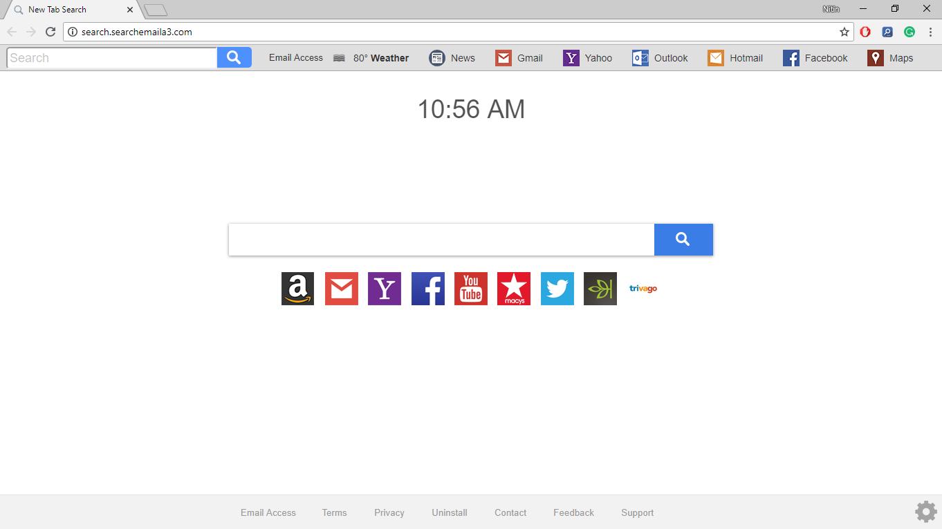 How to Remove Search.searchemaila3.com