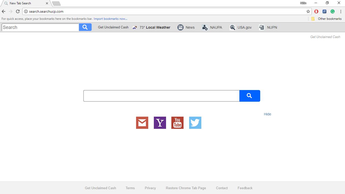 How to Remove Search.searchucp.com
