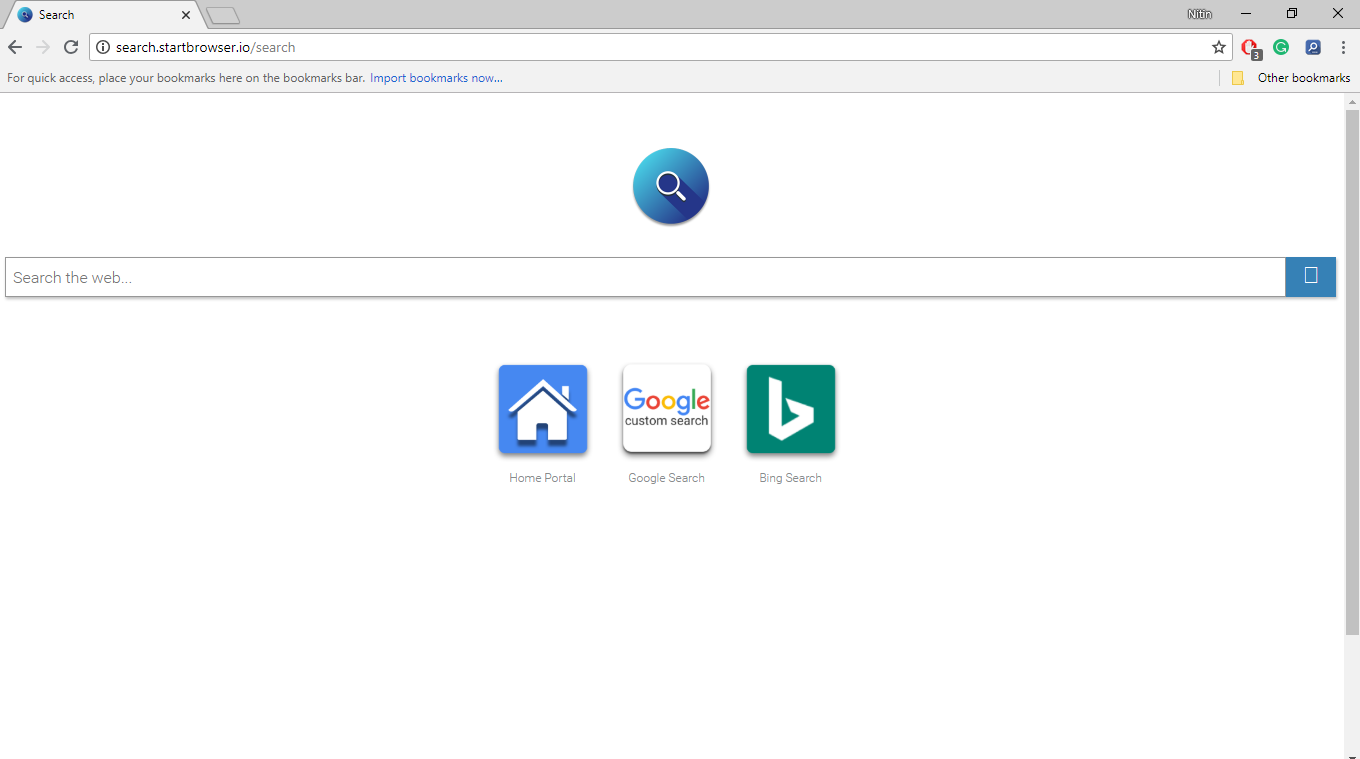 How to Remove Search.startbrowser.io