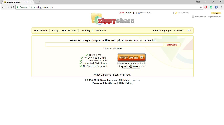 Uninstall Zippyshare com Virus from Windows 10 Completely
