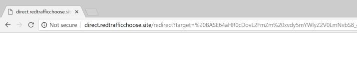 How to Remove Direct.redtrafficchoose.site Redirect