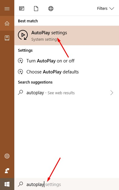 Disable AutoPlay 1