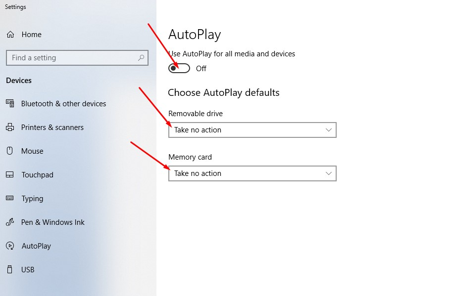 Disable AutoPlay 2 - How to Avoid Malware Infection