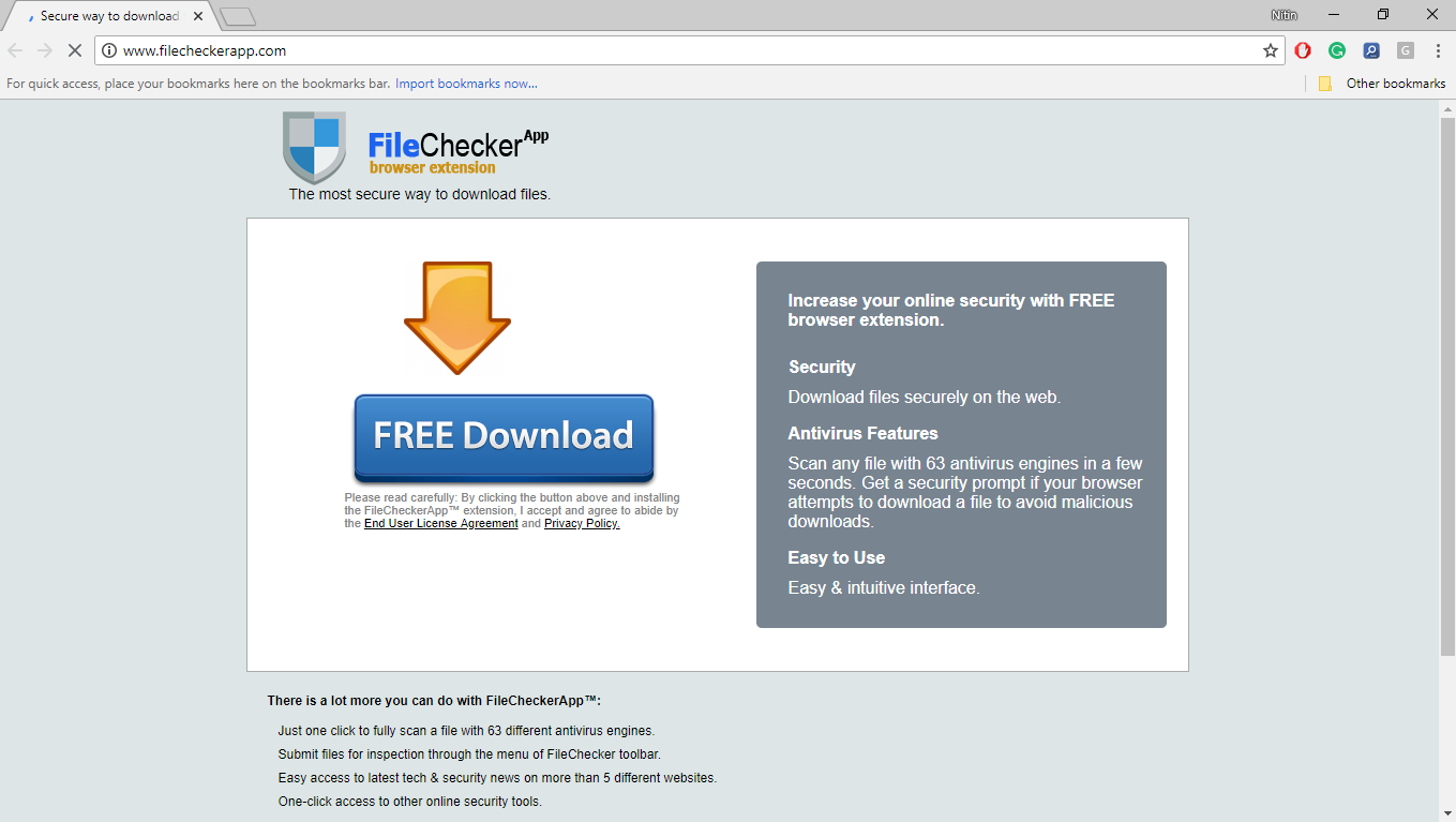 How to Remove Filecheckerapp.com