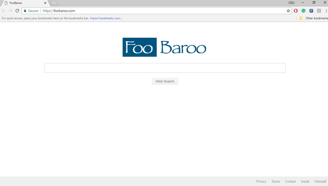 How to Remove Foobaroo.com