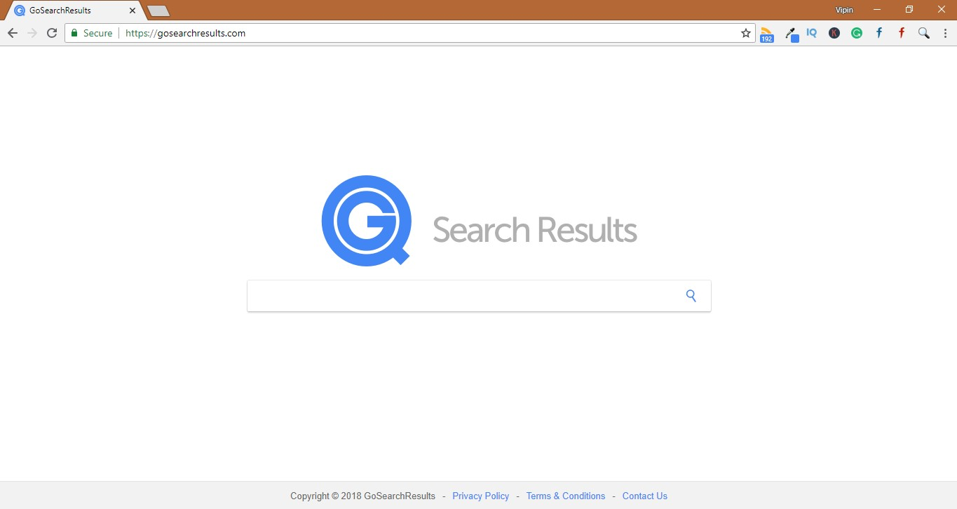 How to Remove Gosearchresults.com