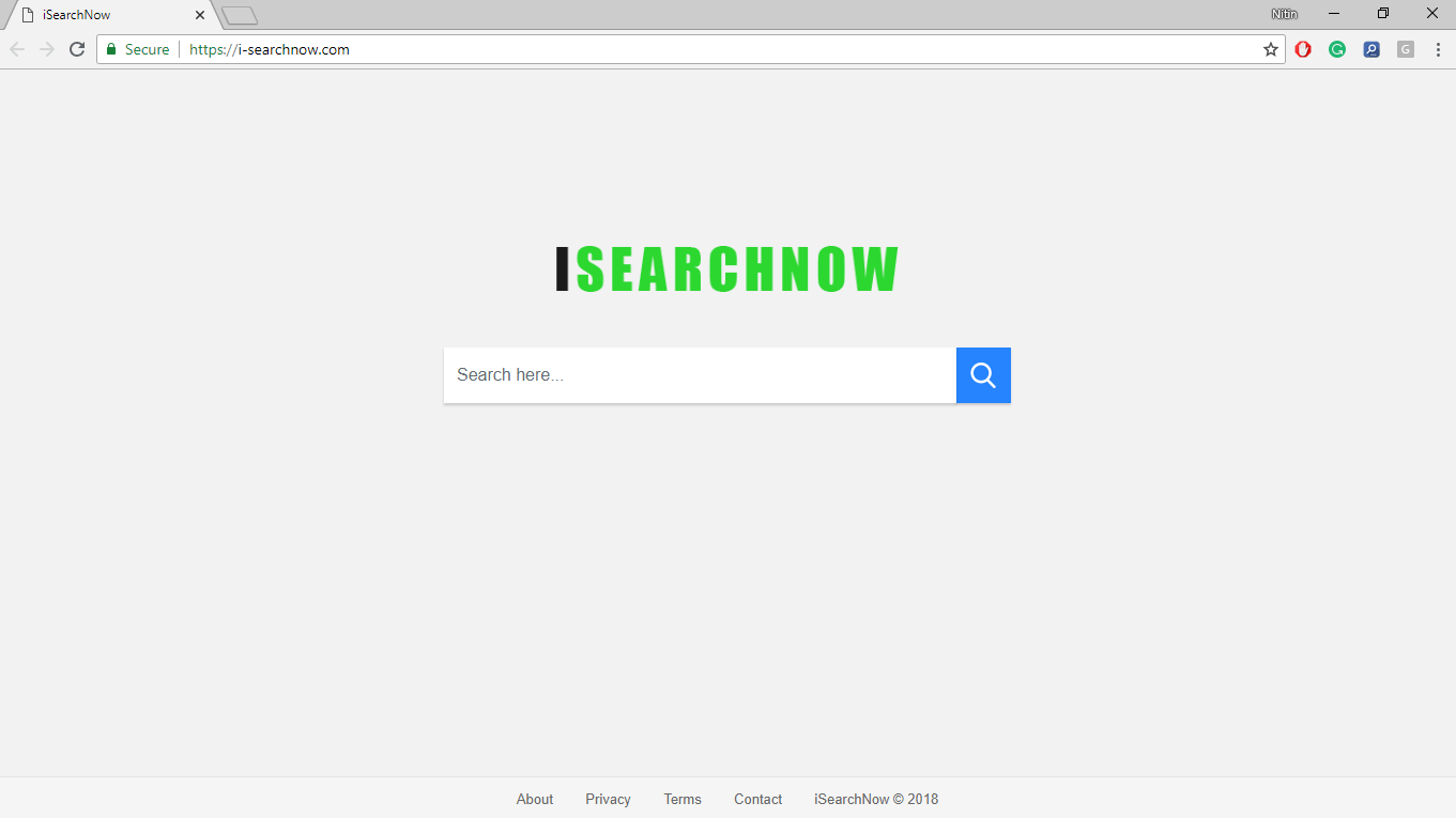 How to Remove I-searchnow.com