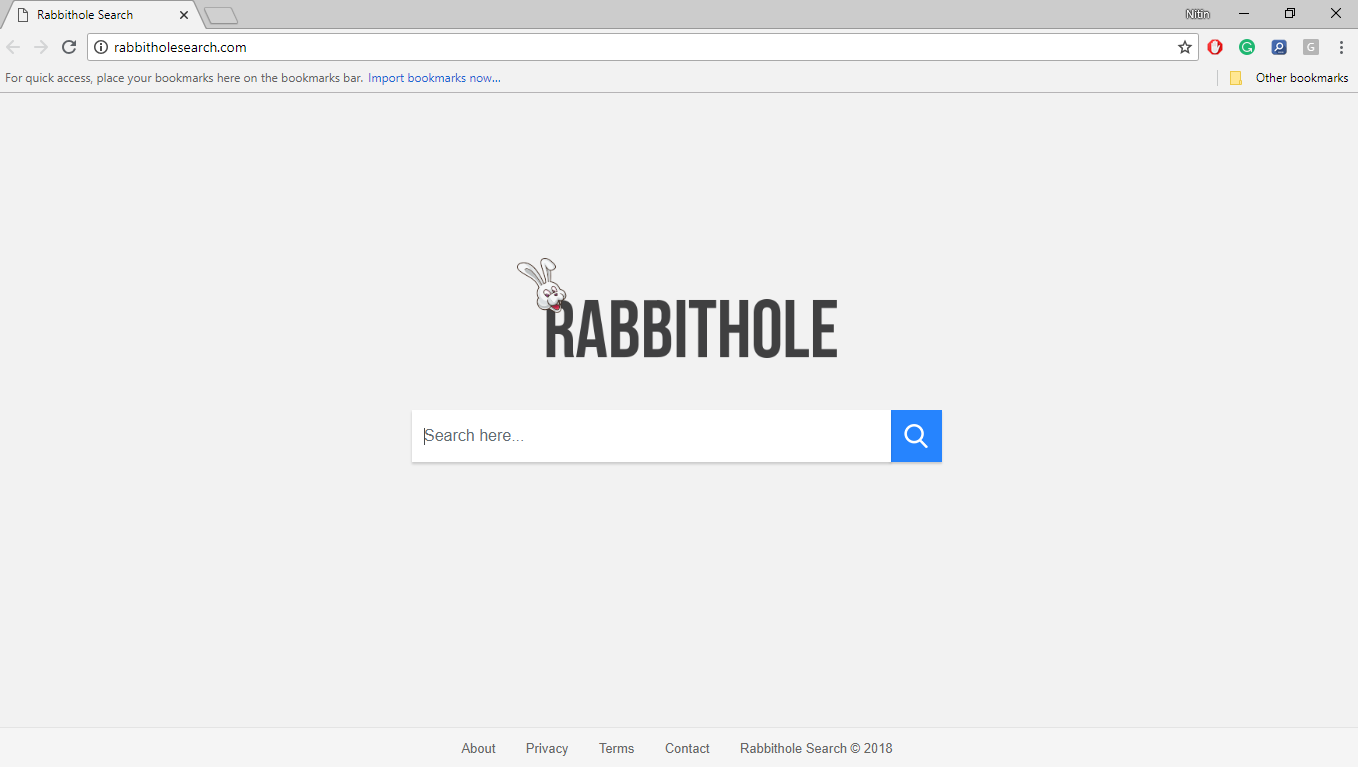 How to Remove Rabbitholesearch.com