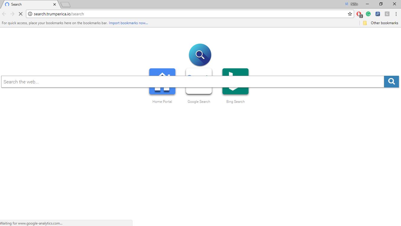 How to Remove Search.trumperica.io
