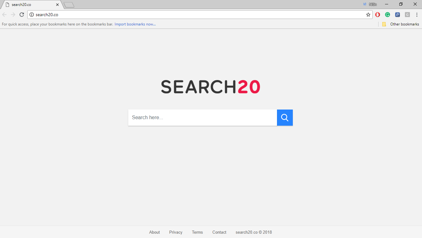 How to remove Search20.co